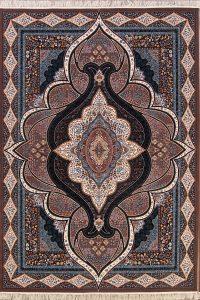 Geometric 8x11 Tabriz Qom Persian Area Rug