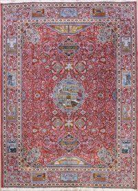 Dynasty Historical Soft Plush 10x13 Kashmar Persian Area Rug