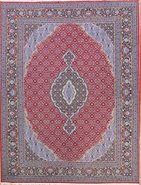 Soft Plush Geometric 10x13 Bidjar Persian Area Rug