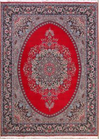 Soft Plush Floral 10x13 Kerman Persian Area Rug