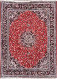 Soft Plush Floral 10x13 Kashan Persian Area Rug
