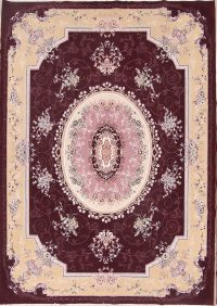 Soft Plush Floral 10x13 Tabriz Persian Area Rug