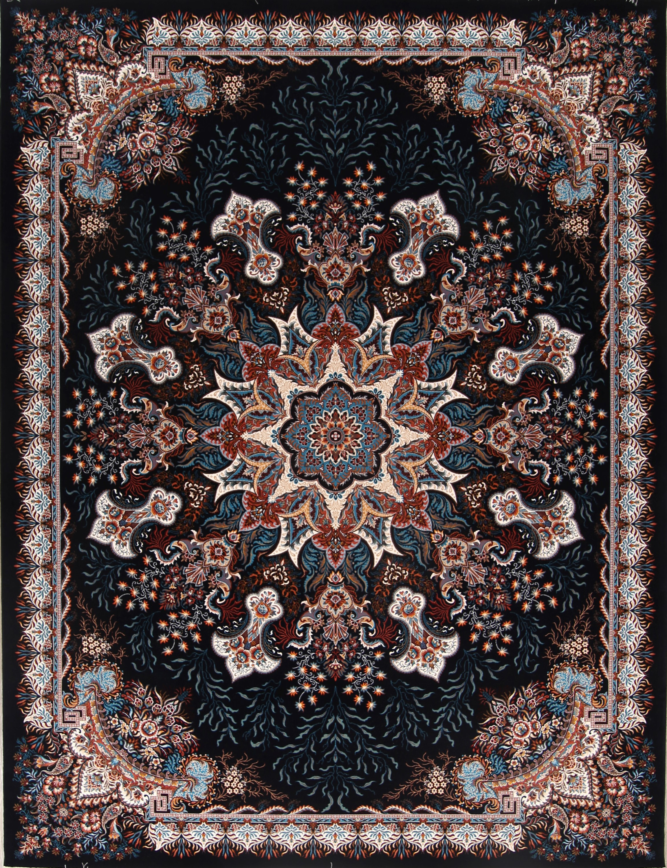 Elegant Medallion Soft Plush 10x13 Tabriz Persian Area Rug
