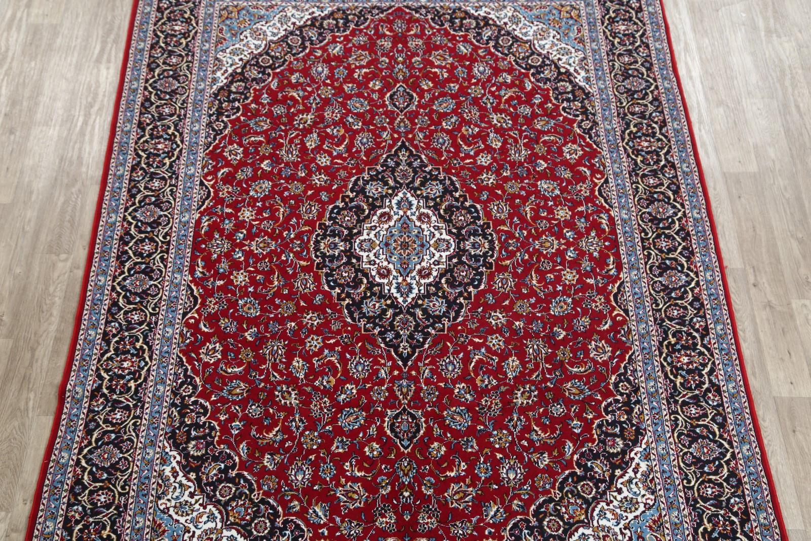 Soft Plush Floral 8x11 Kashan Persian Area Rug