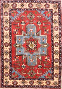 Geometric 4x6 Ardebil Persian Area Rug
