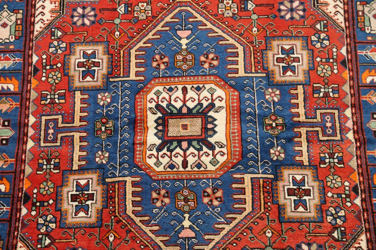 Geometric 4x7 Nahavand Hamadan Persian Area Rug