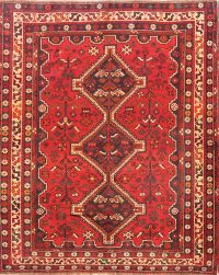Geometric 5x7 Shiraz Persian Area Rug