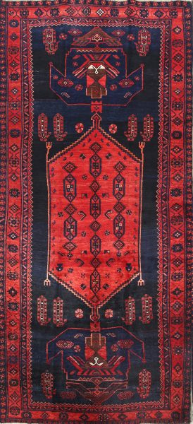 Geometric 5x11 Bidjar Persian Area Rug