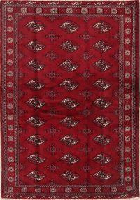 Geometric 4x6 Balouch Persian Area Rug