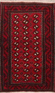 Geometric 4x7 Balouch Persian Area Rug