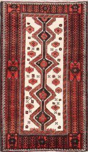 Geometric 3x5 Balouch Persian Area Rug