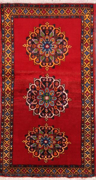 Geometric 3x6 Zanjan Persian Rug Runner