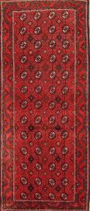 Geometric 4x10 Balouch Persian Rug Runner