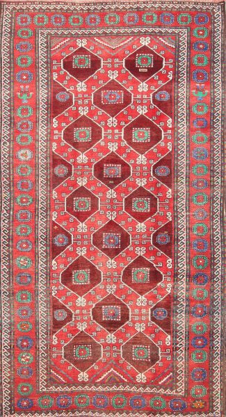 Geometric 5x10 Balouch Persian Area Rug