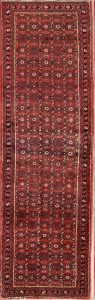 All-Over Floral 3x10 Hamedan Persian Rug Runner