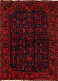 All-Over 4x6 Nahavand Hamedan Persian Area Rug