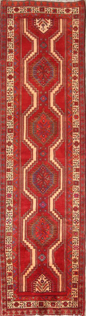 Geometric 3x13 Ardebil Persian Rug Runner