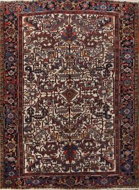 All-Over 7x10 Heriz Serapi Persian Area Rug