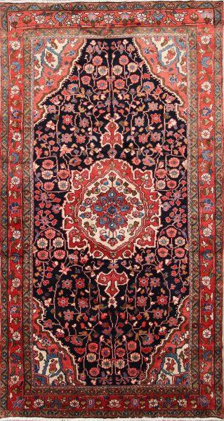 Geometric 5x9 Hamedan Persian Area Rug