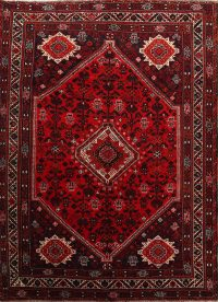 Geometric Tribal 7x10 Shiraz Qashqai Persian Area Rug