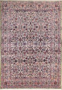 Floral 7x10 Kerman Lavar Ravar Persian Area Rug