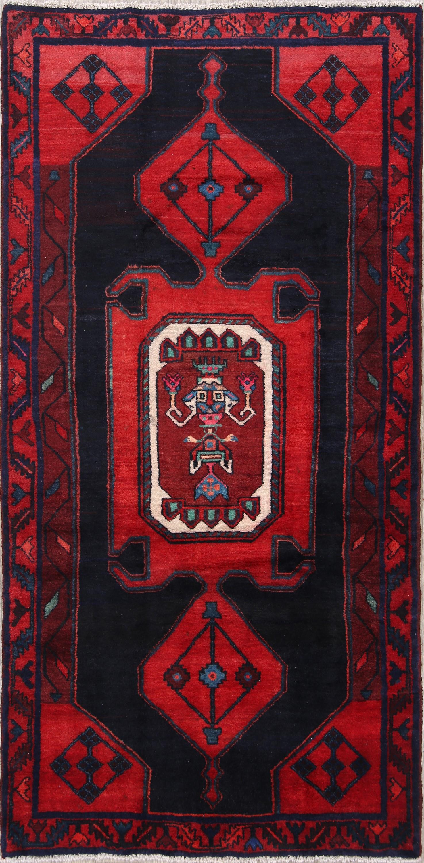 Geometric Tribal 5x8 Hamedan Persian Area Rug