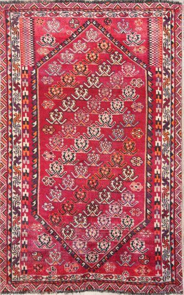 Geometric 5x8 Lori Shiraz Persian Area Rug