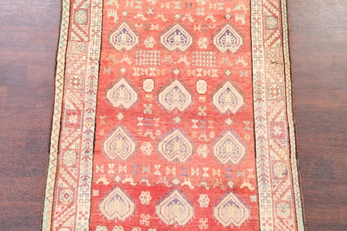 Tribal Nomad 4x8 Lori Shiraz Persian Rug Runner