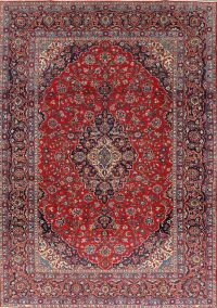 Geometric 9x12 Kashan Persian Area Rug