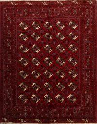Geometric 7x9 Balouch Persian Area Rug