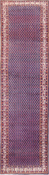All-Over Geometric 4x13 Botemir Persian Rug Runner