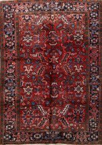 Geometric 6x9 Heriz Persian Area Rug