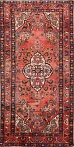 Geometric Tribal 5x10 Lilian Hamedan Persian Area Rug