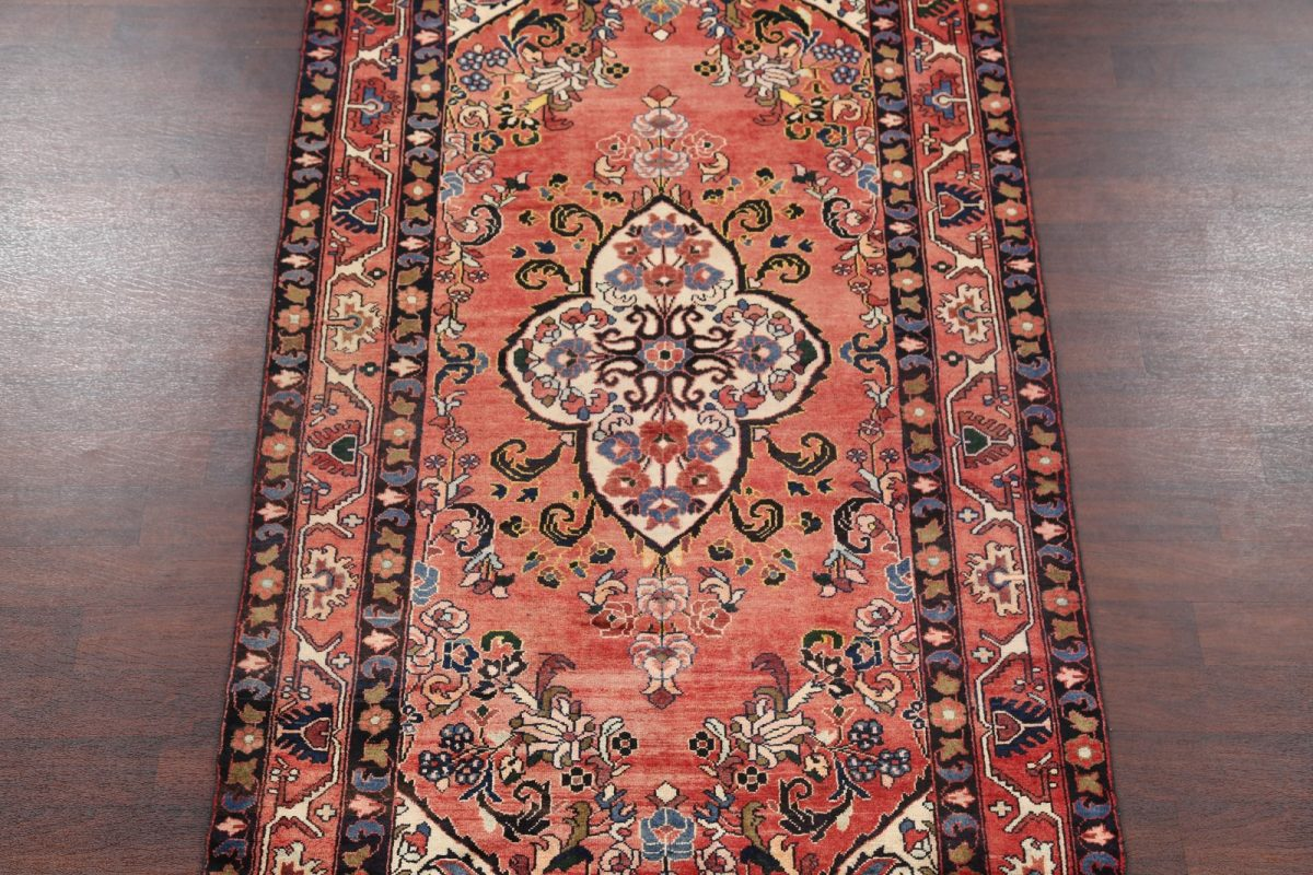 Geometric Tribal 5x10 Lilian Hamedan Persian Area Rug
