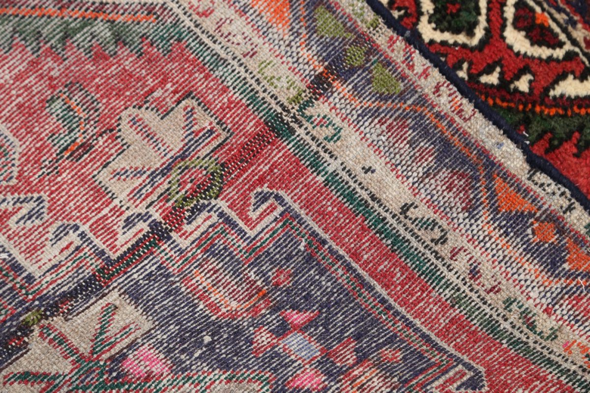 Geometric Tribal 3x4 Hamedan Persian Area Rug