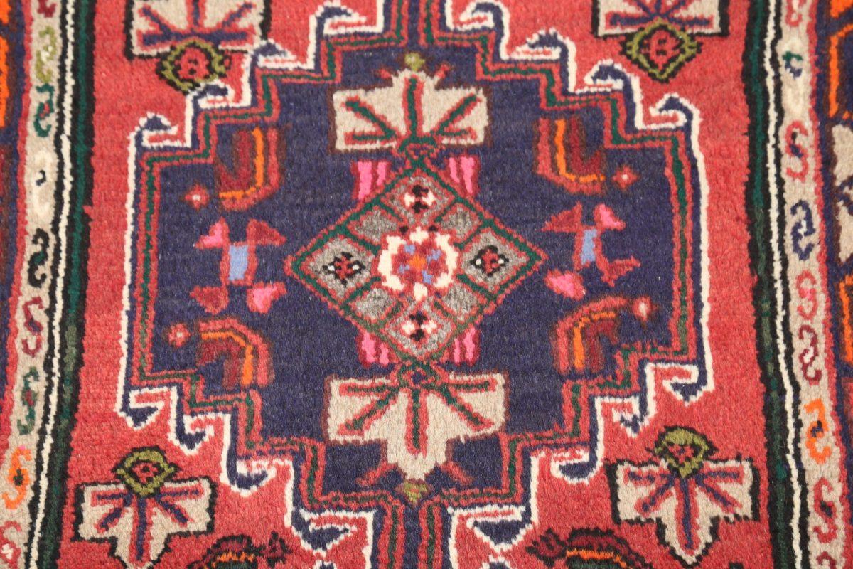 Geometric Tribal 3x4 Hamedan Persian Area Rug