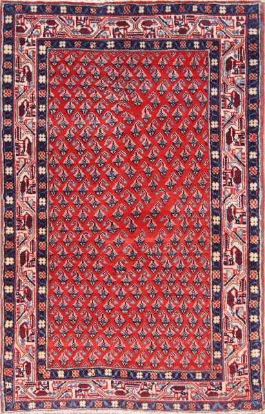 All-Over Bote Geometric 3x5 Botemir Persian Area Rug