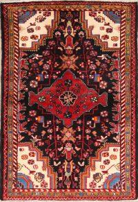 Geometric 3x5 Malayer Hamedan Persian Area Rug