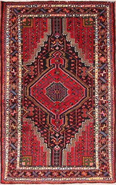 Geometric Tribal 3x5 Zanjan Persian Area Rug