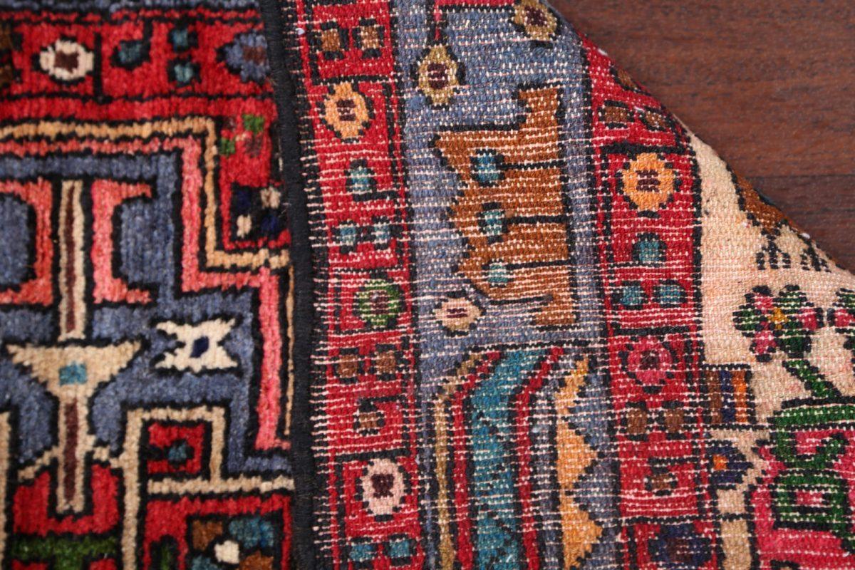 Geometric Tribal 4x6 Hamedan Persian Area Rug