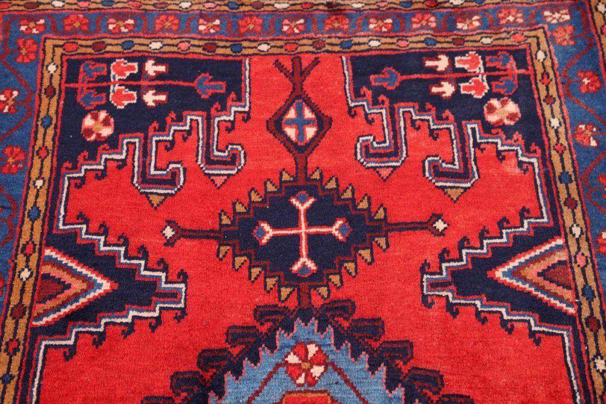 Geometric Tribal  4x5 Viss Mahal Persian Area Rug
