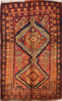 Geometric 5x7 Kazak Caucasian Russian Oriental Area Rug
