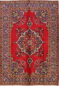 Geometric 6x9 Tabriz Persian Area Rug