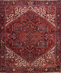 Geometric 12x14 Heriz Persian Area Rug