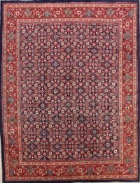 All-Over Floral 9x12 Sarouk Persian Area Rug