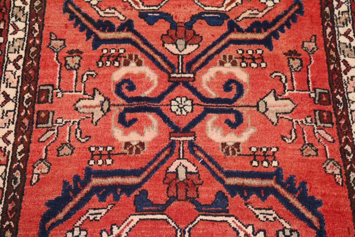Geometric 3x10 Hamedan Persian Rug Runner