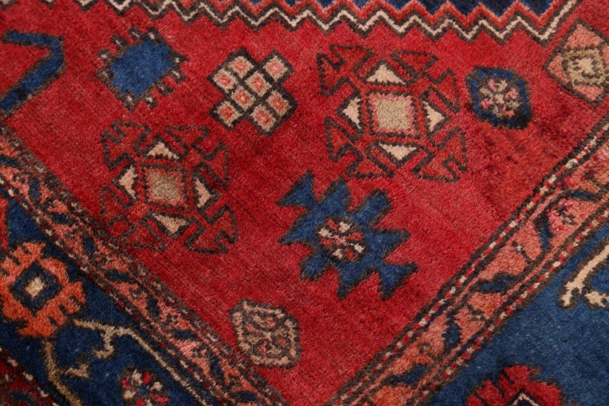 Geometric Tribal Light Blue 4x7 Bakhtiari Persian Area Rug
