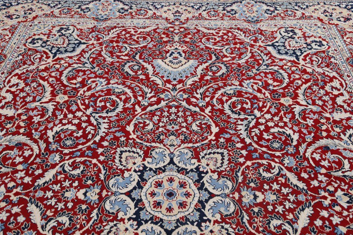 Soft Plush Floral 10x12 Kashan Persian Area Rug
