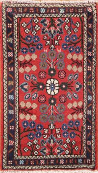 All-Over Floral 2x3 Hamedan Lilian Persian Area Rug