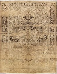 Geometric 10x13 Heriz Persian Area Rug